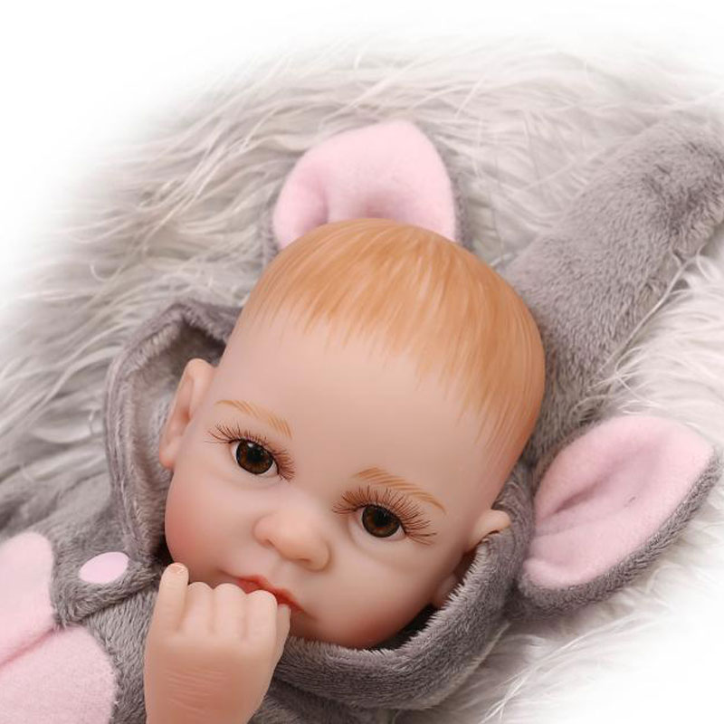 11 Quot Handmade Real Life Newborn Baby Dolls Vinyl Silicone