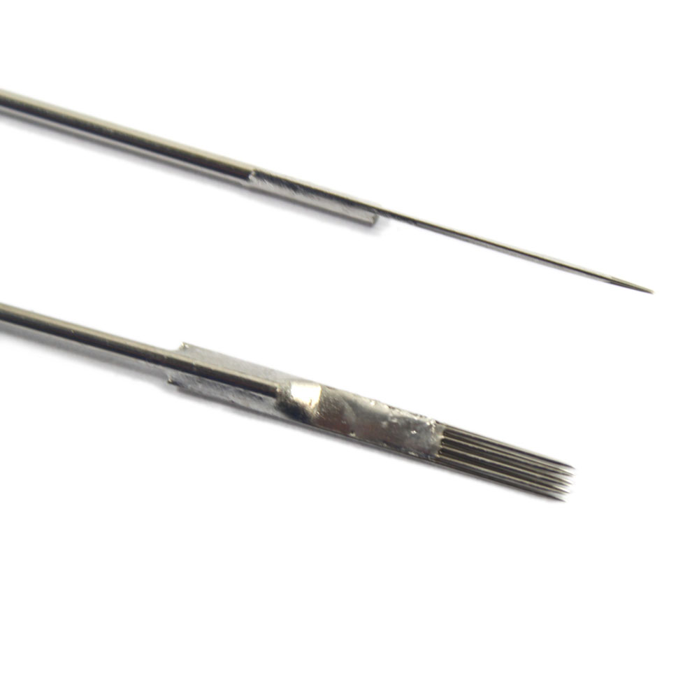 100 pcs mix sizes sterile disposable tattoo needles 3 5 7 for Tattoo needle sizes