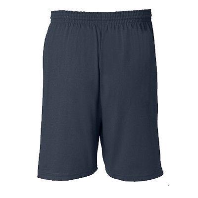 "New Champion Mens Athletic Cotton Gym Shorts 6"" Inseam No ..."